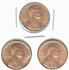 1971-D-P-S Three Uncirculated Lincoln Cent Coins!