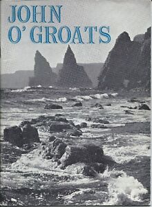 JOHN O'GROATS c1962 illustrated history guide adverts