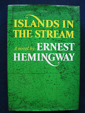 ISLANDS IN THE STREAM by ERNEST HEMINGWAY - First Edition in Jacket