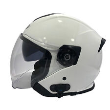 Viper Casco de moto scooter RS V10 Bluetooth Blanco Cara Abierta