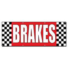 Brakes Auto Body Shop Car Repair Banner Sign 2 ft x 4 ft /w 4 Grommets