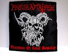 proclamation execration of cruel bestiality  EMBROIDERED PATCH