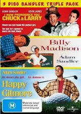 I Now Pronounce You Chuck and Larry / Billy Madison / Happy Gilmore DVD NEW