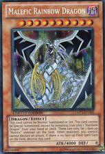 YuGiOh > Malefic Rainbow Dragon < Secret Rare SCR YMP1-EN005 Holo Engl.