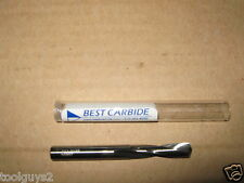#53 (.0595) SOLID CARBIDE 15DEG HELIX 135DEG SPLIT PT SCREW MACHINE DRILL BIT