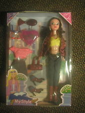 My Style Fashion Doll Clothes and Accessories in Box#2681