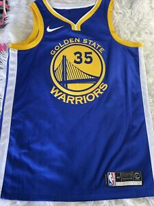 Nike NBA Authentic Stitched Kevin Durant Golden State Warriors Jersey Size 44 M