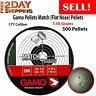 Air Gun Pellets .177 Caliber Gamo Match Flat Nose Point Pellet 500 Ct Gun Bb
