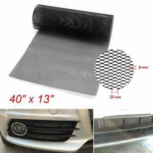 Car Racing Honeycomb Mesh Tuning Grill Net Spoiler Bumper Vent Aluminium Alloy