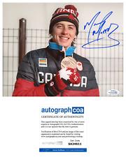 Mark McMorris Signed Snowboarding Olympics Medal  8x10 Photo EXACT Proof ACOA C