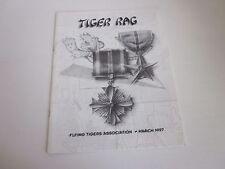 American Volunteer Group Flying Tigers  Tiger Rag 1997
