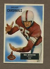 1955 Bowman Football Card No. 18Max Boydston Ex+