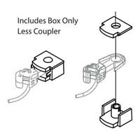 Athearn N Coupler Box & Cover (6) ATH16788