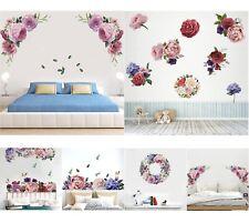 Pared Adhesivo Peonía Rosa Flor la etiqueta de la Pared Decoración Arte de Mural Adhesivo Casa De Vivero