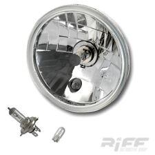 H4 Scheinwerfer Einsatz Reflektor 5 3/4 Zoll klar Glas Motorrad Harley universal