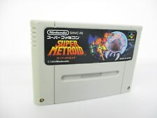 Super Famicom SUPER METROID SNES Video Game Nintendo Cartridge Only sfc