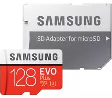 SAMSUNG 128GB Micro Sd Sdxc microSD MicroSDXC Class 10 100MB/s 128GB EVO + PLUS