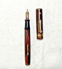 Vintage  WAHL Decoband Gold Seal Fountain Pen 1927