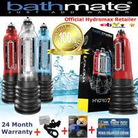 Bathmate Hydro7 Hercules X20 X30 X40 New 100% Authentic Hydropump Free Gifts USA