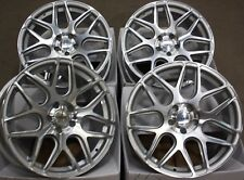 "ALLOY WHEELS X 4 18"" SM DAYTONA FITS RENAULT 5X108 PEUGEOT LAND ROVER SEE LIST"