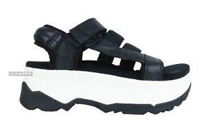 Teva Zamora Black Platform Sandals Womens Size 9 *NIB*