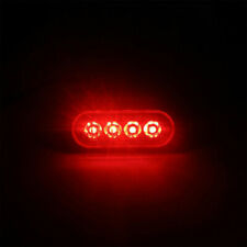 2PCS Car Trailer Truck Tail light Brake Side Warning LED Light Turn Signal Lamp
