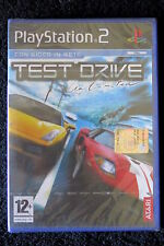 PS2 : TEST DRIVE UNLIMITED - Nuovo, sigillato, ITA ! Prima stampa !