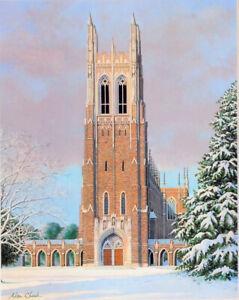 Duke Chapel Art Print