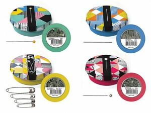 Sew Tasty Pins Station - Pins in Tins - Set of 4