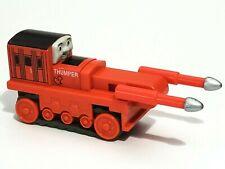 THOMAS FRIENDS Train THUMPER Railway Wood Car Sodor Railroad RUBBER TRACK BELT