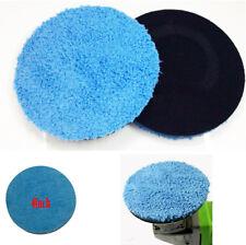 """4 """"blau Mikrofaser Buff Polierscheibe Auto Kratzer Remover Care Tool Universal"""