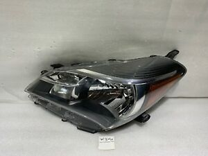 2015 2016 2017 Toyota Yaris Headlight OEM Left Driver Side Halogen