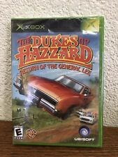 Xbox Original The Dukes Of Hazzard Return Of The General Lee New Sealed