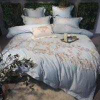 Luxury Queen 4/7 Duvet Cover Sheet Cover Pillow Case Bedding Pillow Case