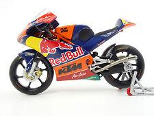 Modell Luis Salom KTM RC 250 R Moto 3 Red Bull Motorradmodell die-cast scale