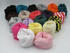Tuch Schal Herbst Sommer Damen Baumwolle Viskose Jersey ca. 25 cm