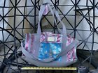 Brand NEW JUICY COUTURE Red Silver Blue Bag Patriotic Sequin Duffle Dance Bag