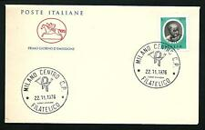 Italia 1976 : Ghiberti - FDC Cavallino / 1° giorno di emissione