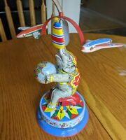 Very Rare German-made Elephant Tin Windup Toy mint condition