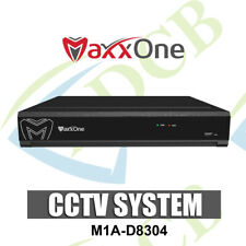 MaxxOne M1A-D8304 4-IN-ONE 2TB 1080P/3MP 4 CHANNEL DVR - AHD/TVI/IP/CVBS CCTV