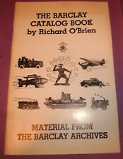 1986 Barclay Catalog Book Richard O'Brien Material From The Barclay Archives