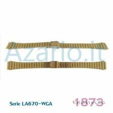 Bracelets de montre Casio en acier inoxydable