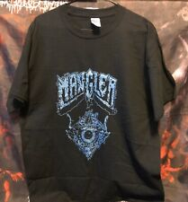 Mangler - Dimensions Of Terror - Blue Shirt Sz L