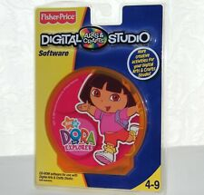 New - Fisher Price / Dora Arts & Crafts Digital Studio PC CD-Rom - Creative