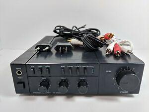 Fisher CA-M100 Premain Amplifier 110V 220V Dual Voltage w/ RCA cables