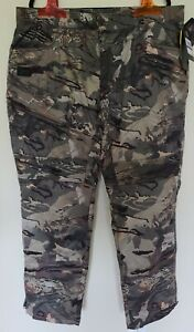 Under Armour Men's XXL Brow Tine Scent Control Camo Forest Pants 1355317-988