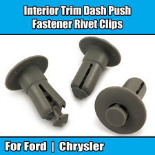 10x Clips for Ford Chrysler Dodge Interior Trim Dash Push Fastener Rivet N808791
