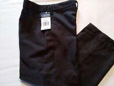 Chaps Dress Pants / School Uniform Boys Sz-5 Adjustable Waist Black Nwt$36