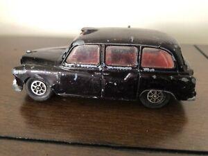 Vintage Corgi Toys Austin London Taxi Cab Whizzwheels Die Cast Great Britain