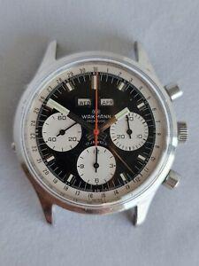 Wakmann Gigandet Dato Triple Calendar Date Chronograph Vintage Valjoux 730 72 88
